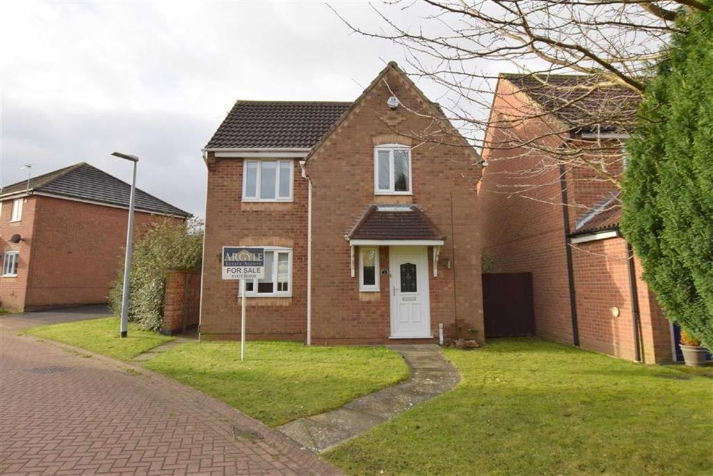 3 Bedrooms Detached House for sale in Rockingham Crescent, Laceby Acres, North East Lincolnshire