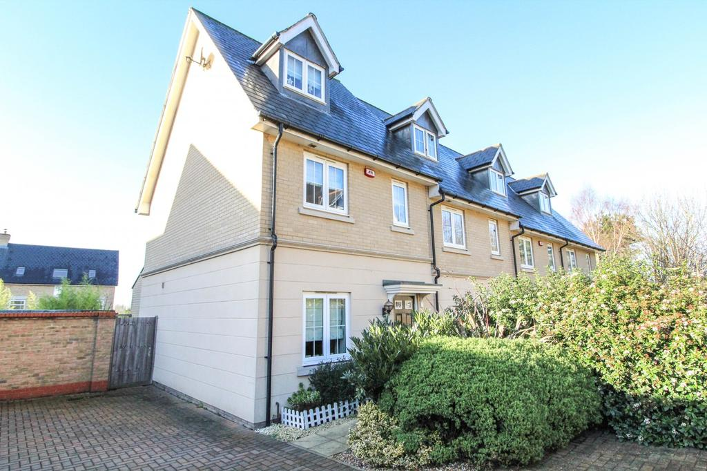 3 Bedrooms End Of Terrace House for sale in De Paul Way, Brentwood, Essex, CM14