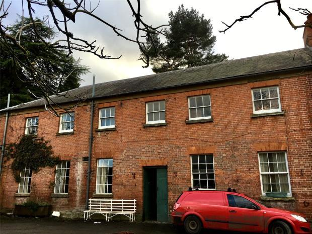 2 Bedrooms Flat for rent in Walcot Hall, Lydbury North, Shropshire, SY7