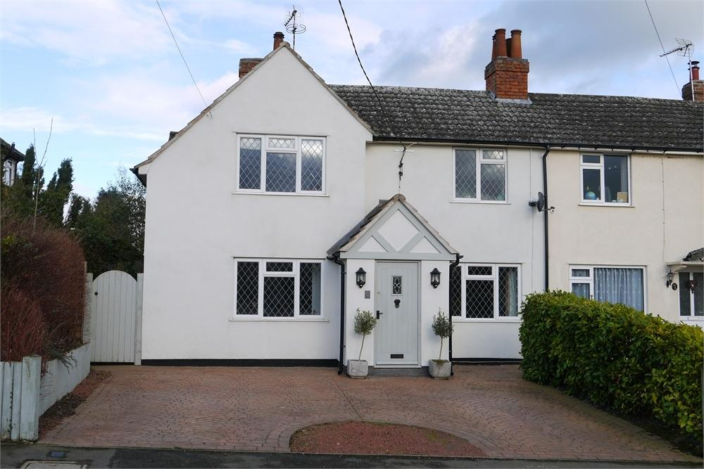 4 Bedrooms Semi Detached House for sale in Ashby Road, Peatling Parva, Lutterworth, Leicestershire