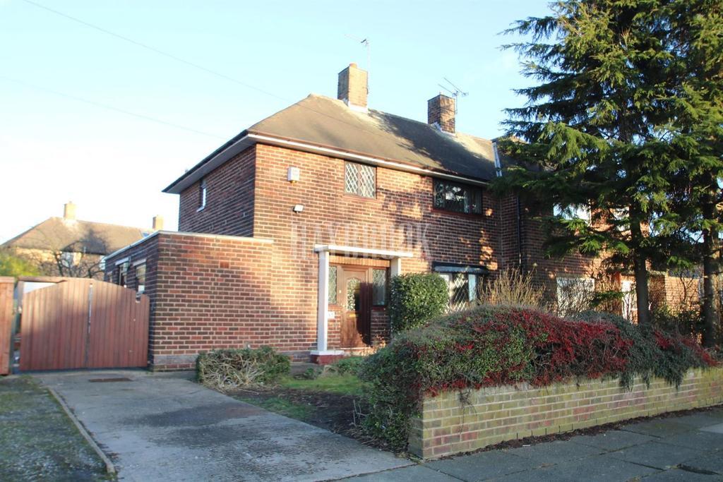 3 Bedrooms Semi Detached House for sale in Kilvington Road, Woodthorpe
