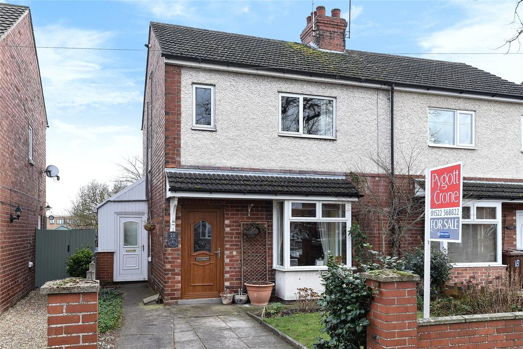 2 Bedrooms Semi Detached House for sale in St Helens Avenue, Lincoln, LN6
