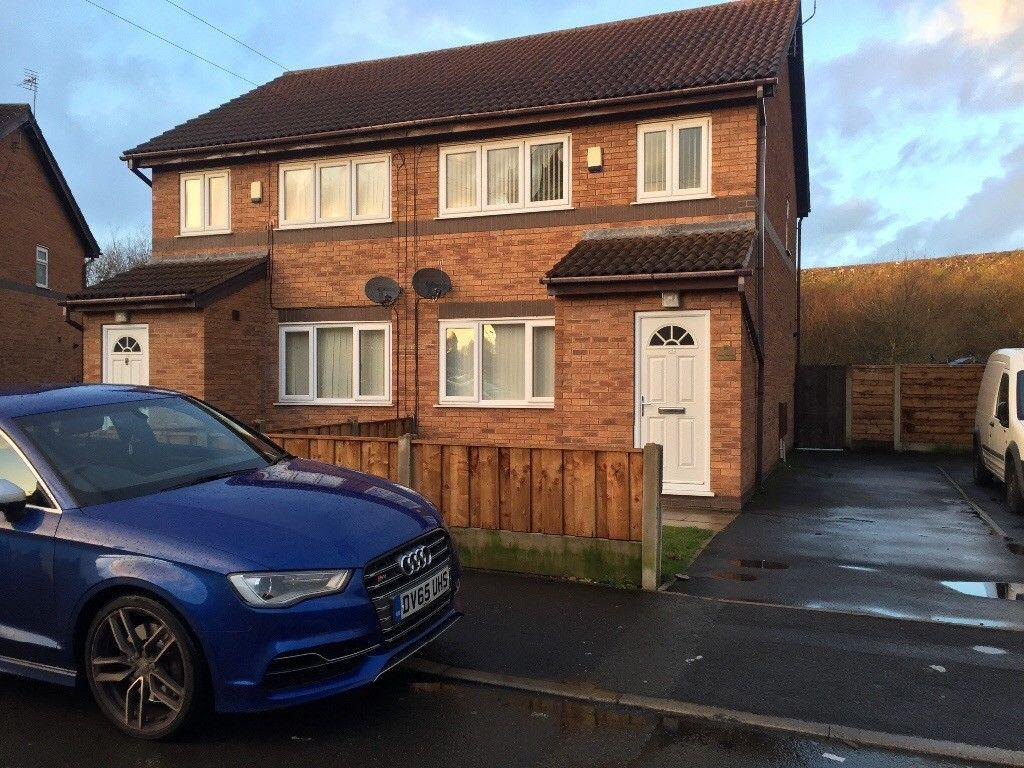 3 Bedrooms Semi Detached House for rent in Brinsop Square , Manchester M12