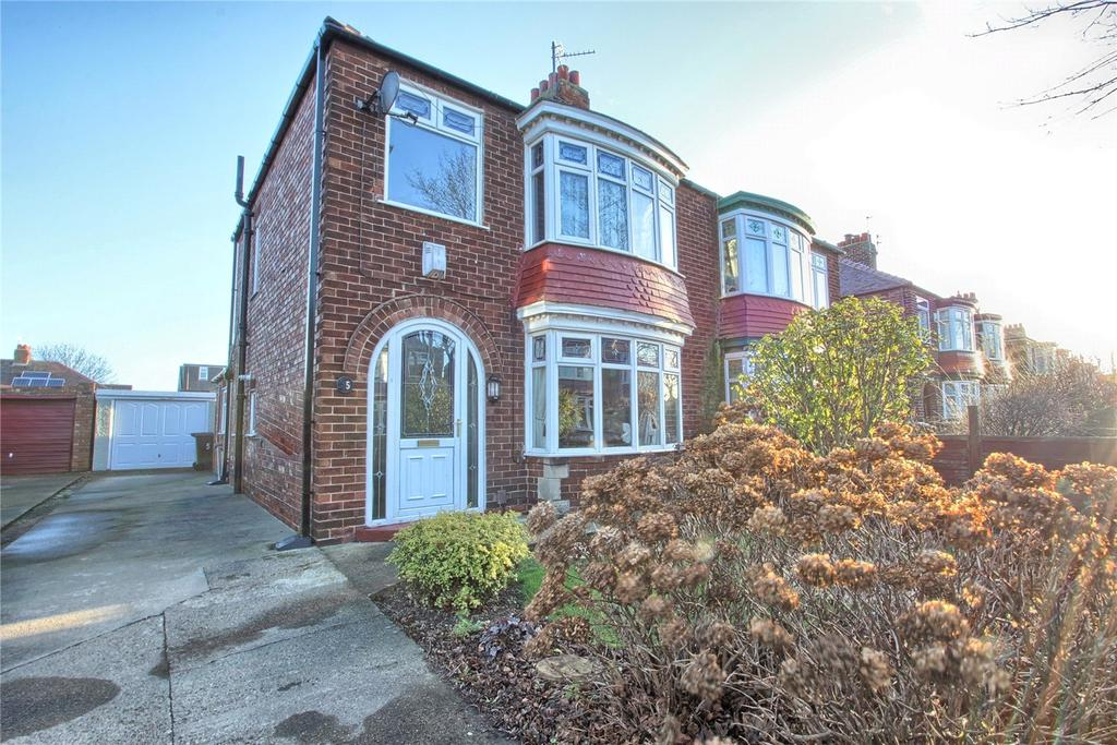 3 Bedrooms Semi Detached House for sale in Raby Road, Redcar