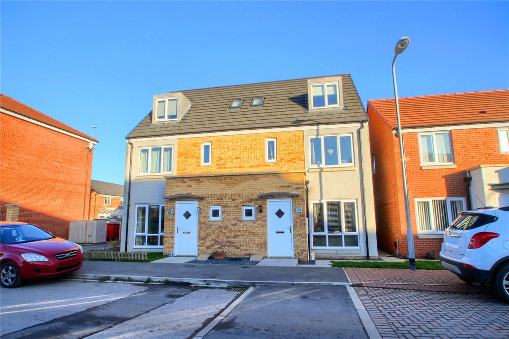 4 Bedrooms Semi Detached House for sale in Greatham Avenue, Stockton On Tees