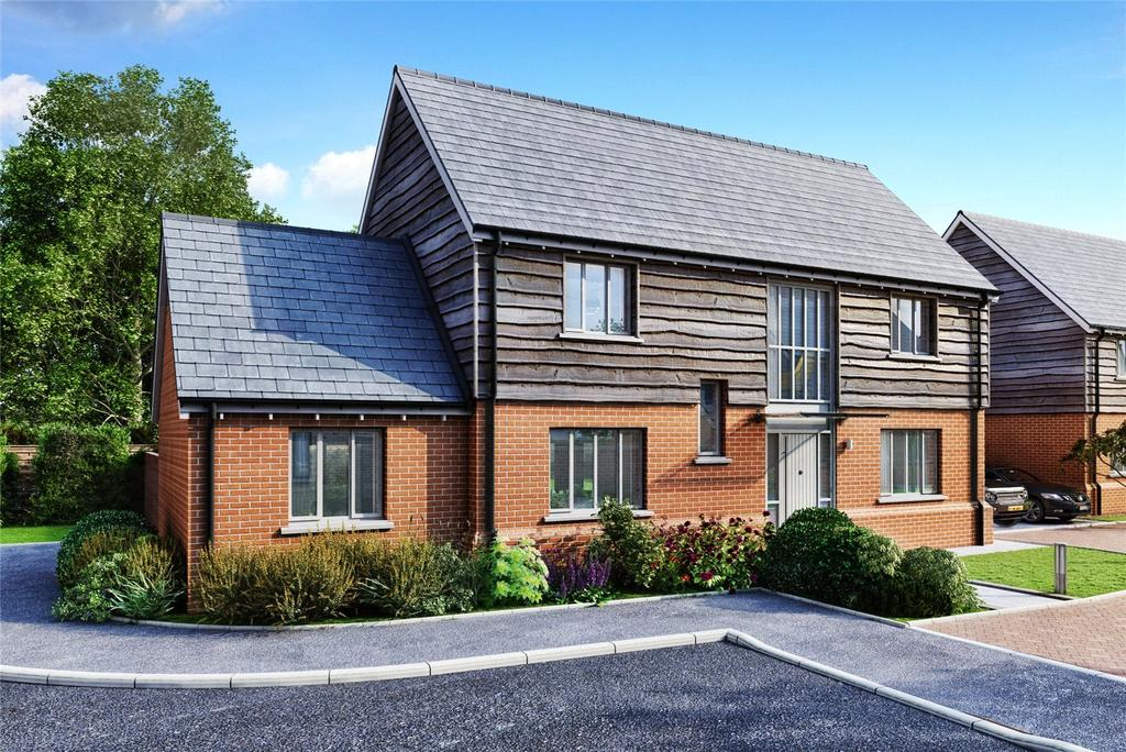 4 Bedrooms Detached House for sale in Plot 15, Bookers Edge, Newport Street, Hay On Wye