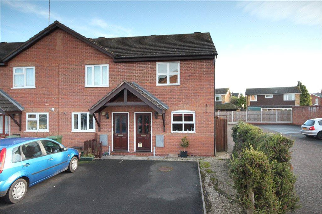 2 Bedrooms End Of Terrace House for sale in Tabbs Gardens, Kidderminster, DY10