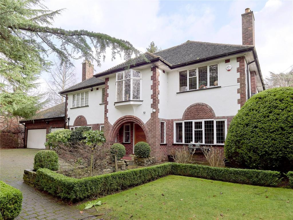 5 Bedrooms Detached House for sale in Bollinway, Hale, Cheshire, WA15