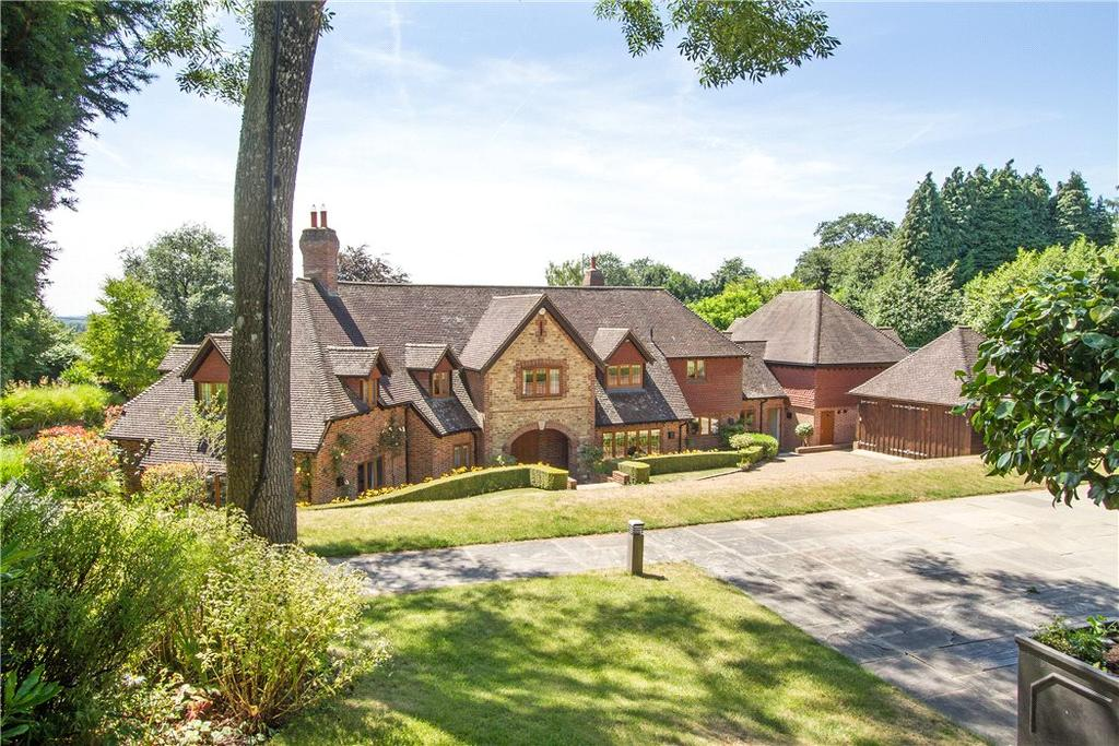 5 Bedrooms Detached House for sale in Sebastopol Lane, Sandhills, Godalming, Surrey, GU8