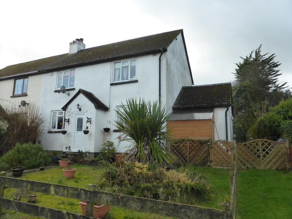 3 Bedrooms Semi Detached House for sale in Black Torrington