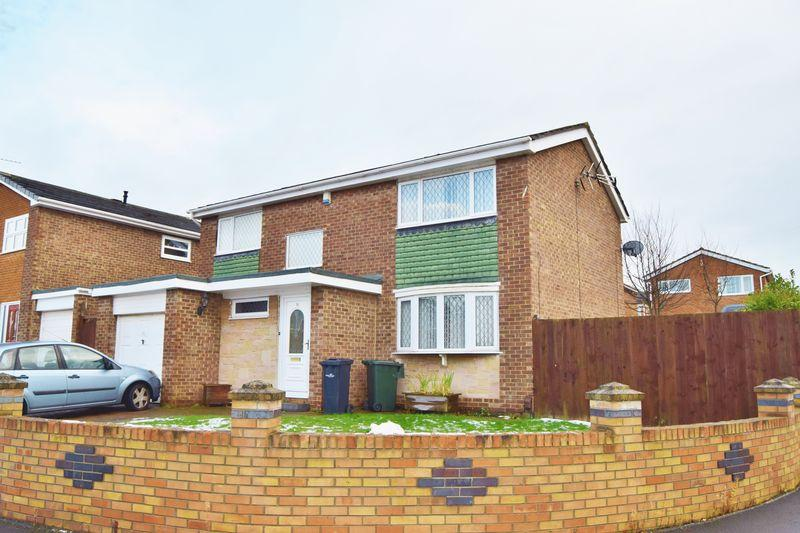 4 Bedrooms Detached House for sale in Rosewood Court, Marton