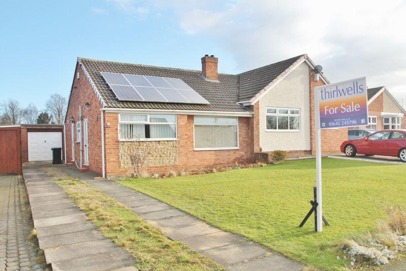 2 Bedrooms Semi Detached Bungalow for sale in Keilder Rise, Hemlington