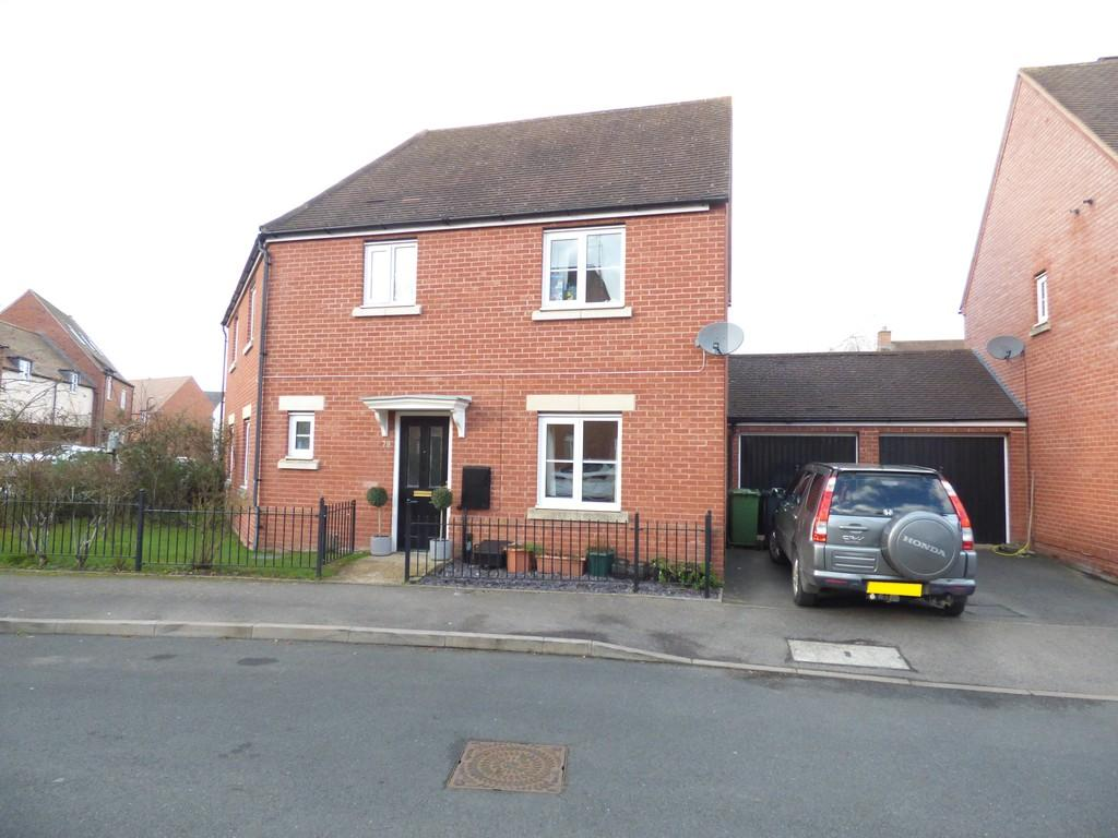 3 Bedrooms Semi Detached House for rent in Amis Way, Stratford-Upon-Avon