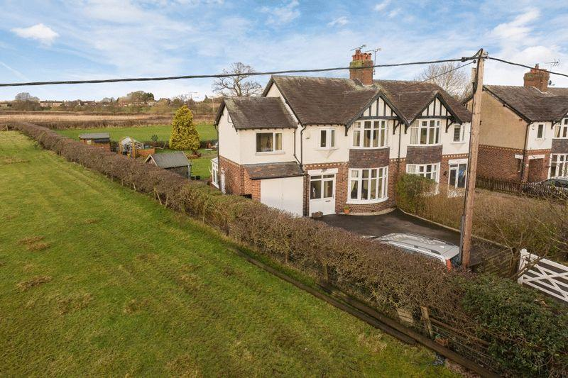 4 Bedrooms Semi Detached House for sale in Newcastle Road, Nantwich