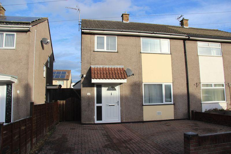 3 Bedrooms Semi Detached House for sale in Betjeman Avenue, Caldicot