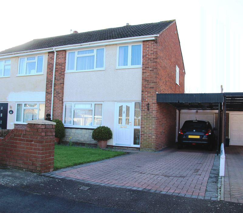 3 Bedrooms Semi Detached House for sale in Cobb Crescent, Caldicot