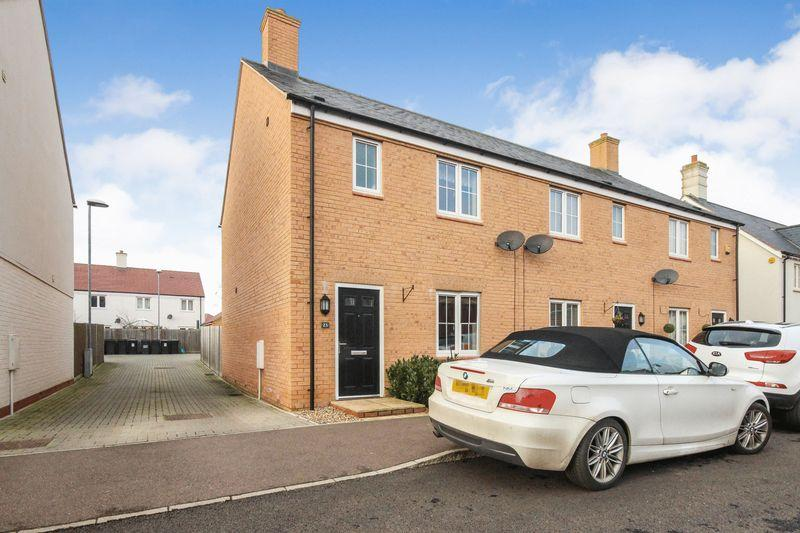 3 Bedrooms End Of Terrace House for sale in Chestnut Avenue, Silsoe