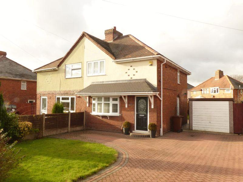 2 Bedrooms Semi Detached House for sale in Broad Lane, Pelsall