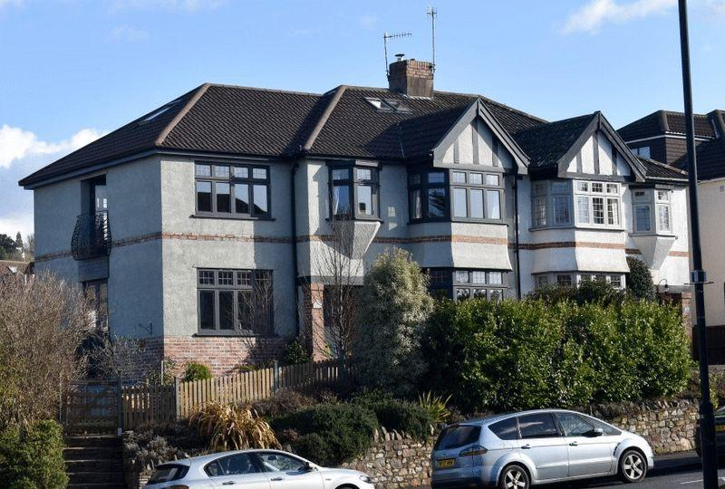 5 Bedrooms Semi Detached House for sale in Stoke Hill, Stoke Bishop