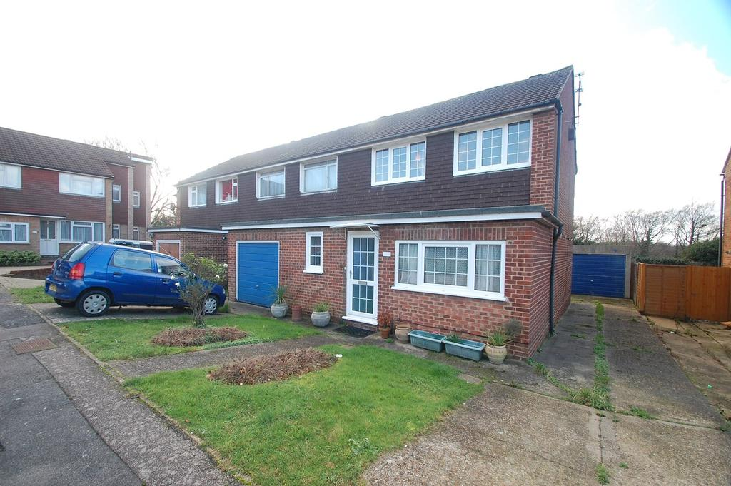 4 Bedrooms End Of Terrace House for sale in Norman Close, Gillingham, ME8