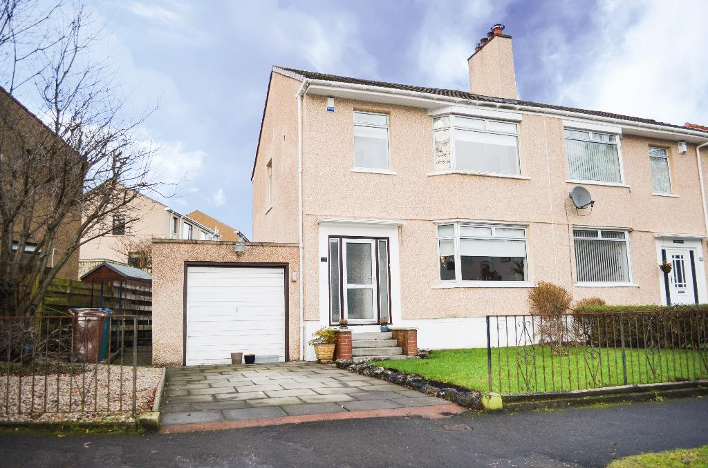 3 Bedrooms Semi Detached House for sale in Netherlee Road, Cathcart, Glasgow, G44 3YZ
