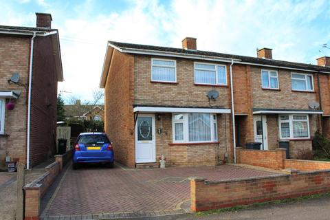 3 bedroom end of terrace house for sale - Hyde Avenue, Stotfold, Hitchin, SG5