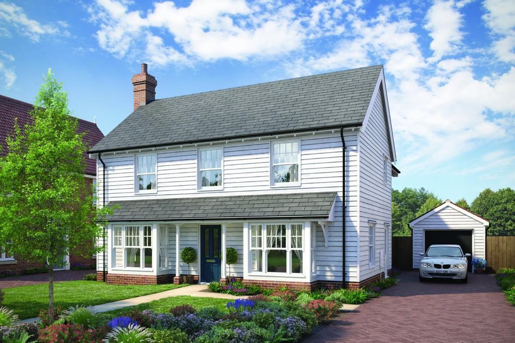 4 Bedrooms Detached House for sale in Plot 3, Manningtree Road, Little Bentley