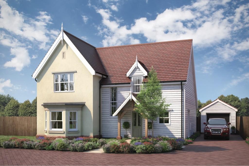 4 Bedrooms Detached House for sale in Plot 1, Manningtree Road, Little Bentley