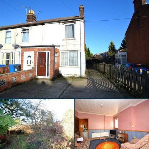 2 bedroom end of terrace house for sale - Bramford Road, Ipswich, IP1 5AZ