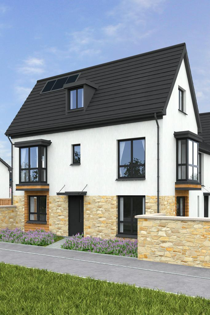 3 Bedrooms End Of Terrace House for sale in The Stokesay Two, Plymouth, Devon