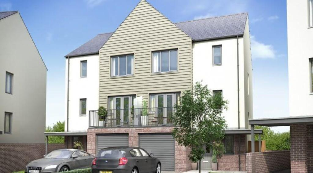 4 Bedrooms Semi Detached House for sale in The Harrison, Fusion, Paignton