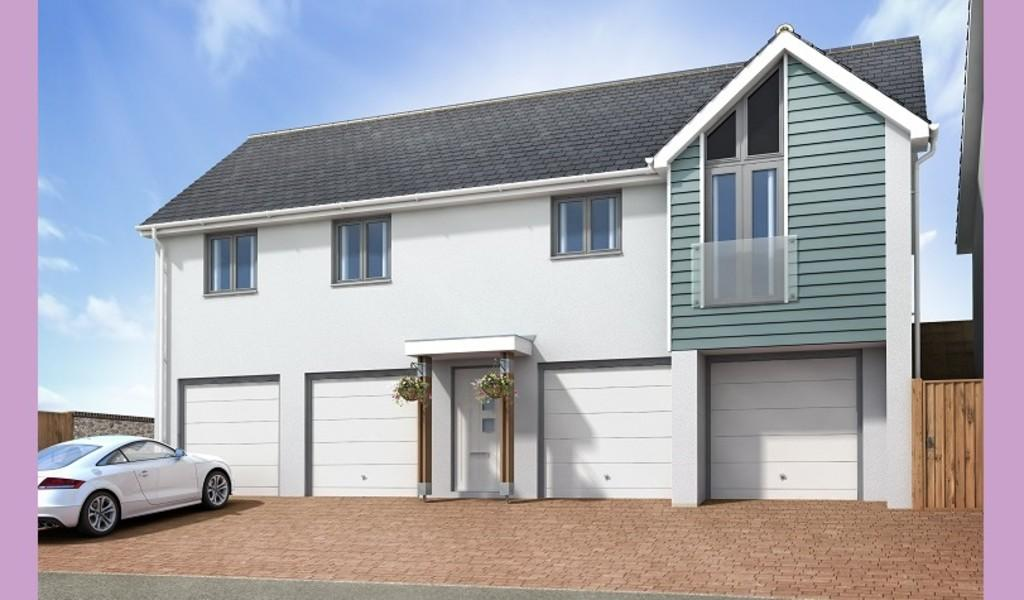 2 Bedrooms Detached House for sale in The Dali, Primrose Hill, Torquay