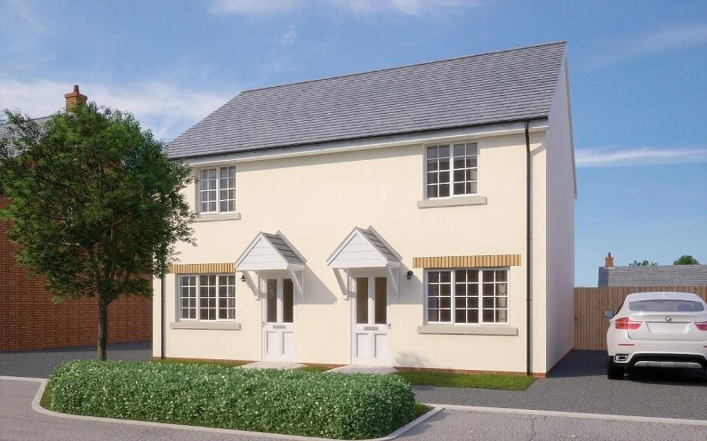 2 Bedrooms Semi Detached House for sale in The Constable, Holsworthy, Devon