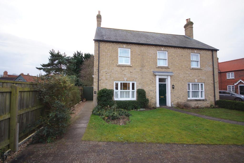 2 Bedrooms Semi Detached House for sale in Old Grammar School Way, Wragby, Market Rasen