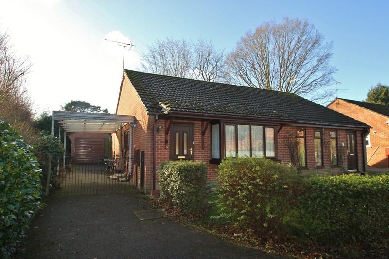 2 Bedrooms Semi Detached Bungalow for sale in Bridport Road, Verwood