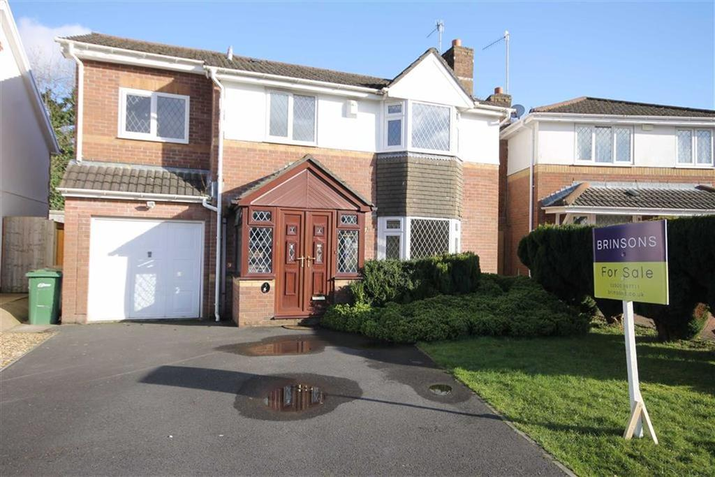 4 Bedrooms Detached House for sale in Llanfedw Close, Caerphilly