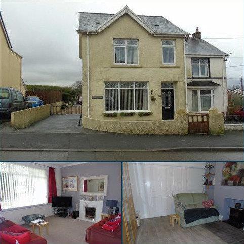 3 bedroom semi-detached house for sale - Heol Y Neuadd, Tumble, Llanelli