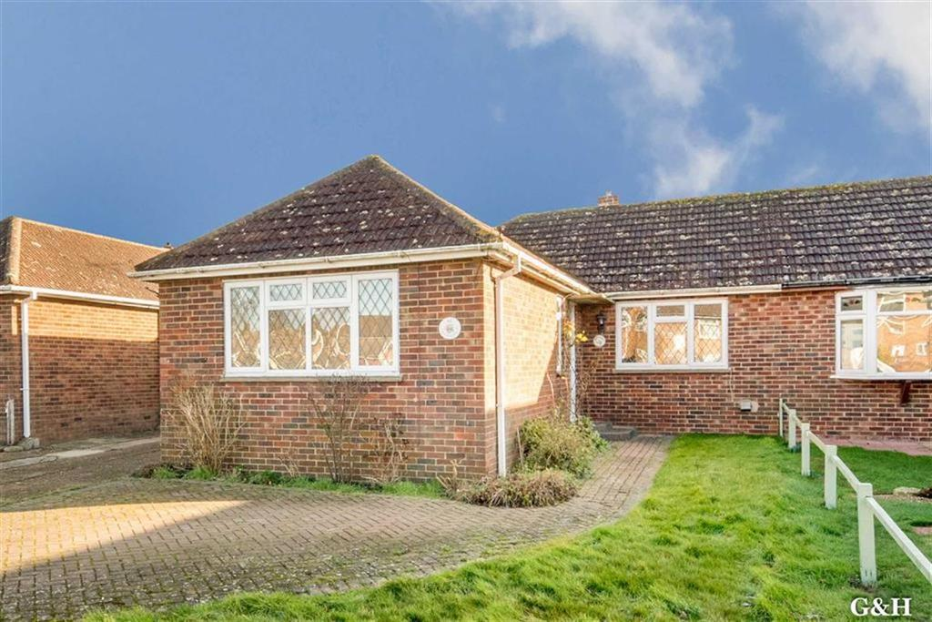 2 Bedrooms Semi Detached Bungalow for sale in Mabledon Avenue, Ashford, Kent