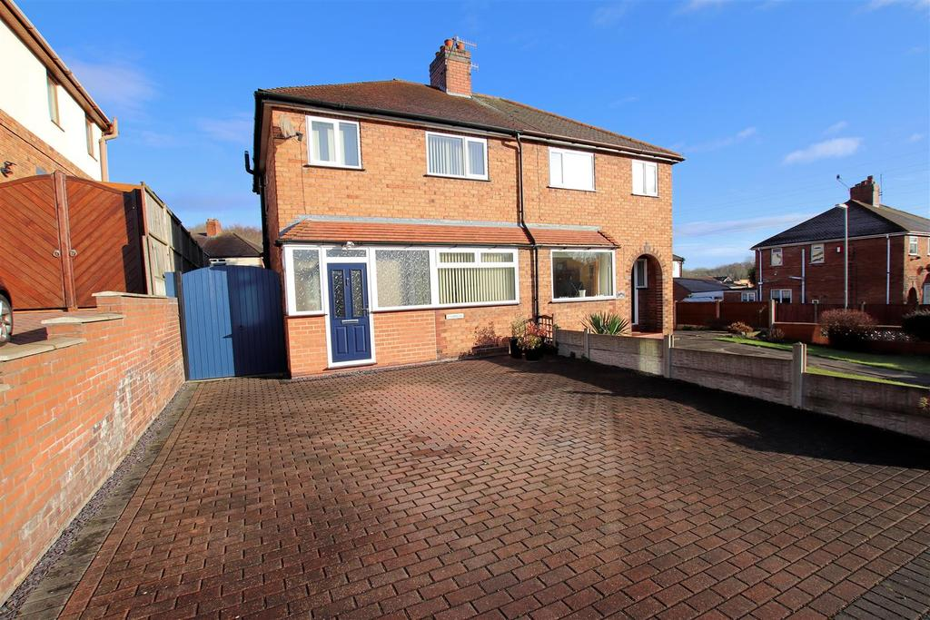 3 Bedrooms Semi Detached House for sale in Newcastle Street, Silverdale, Newcastle