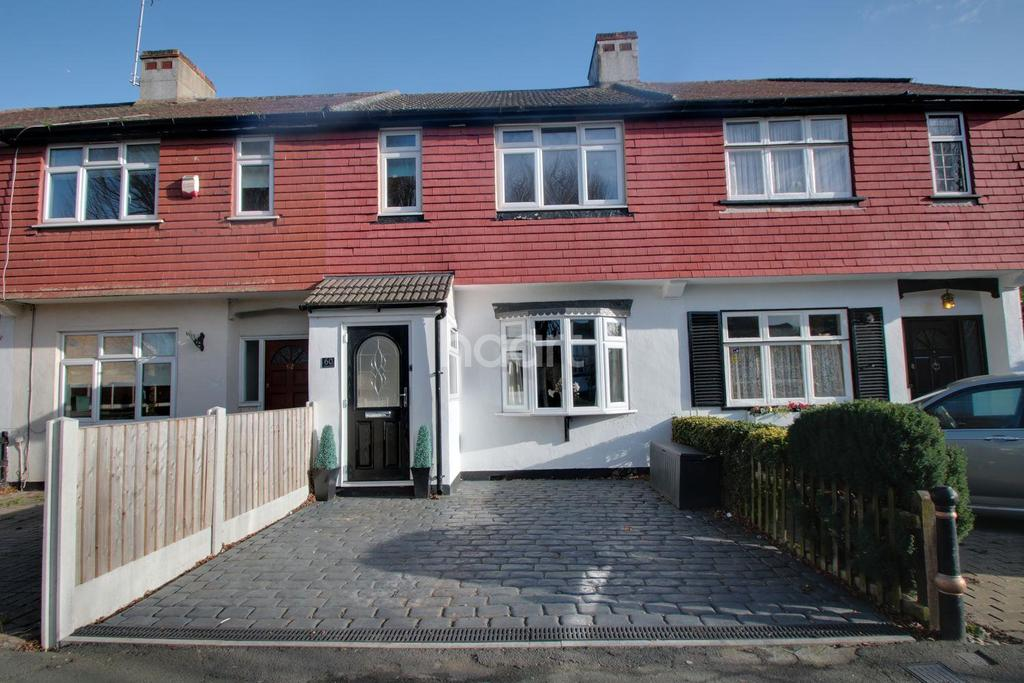 3 Bedrooms Terraced House for sale in Avenue Road, Harold Wood, RM3 0TB