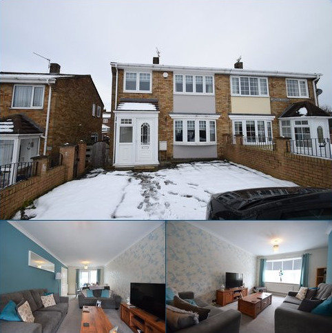 3 bedroom semi-detached house for sale - Lumsden Square, Murton, Seaham, Co.Durham, SR7
