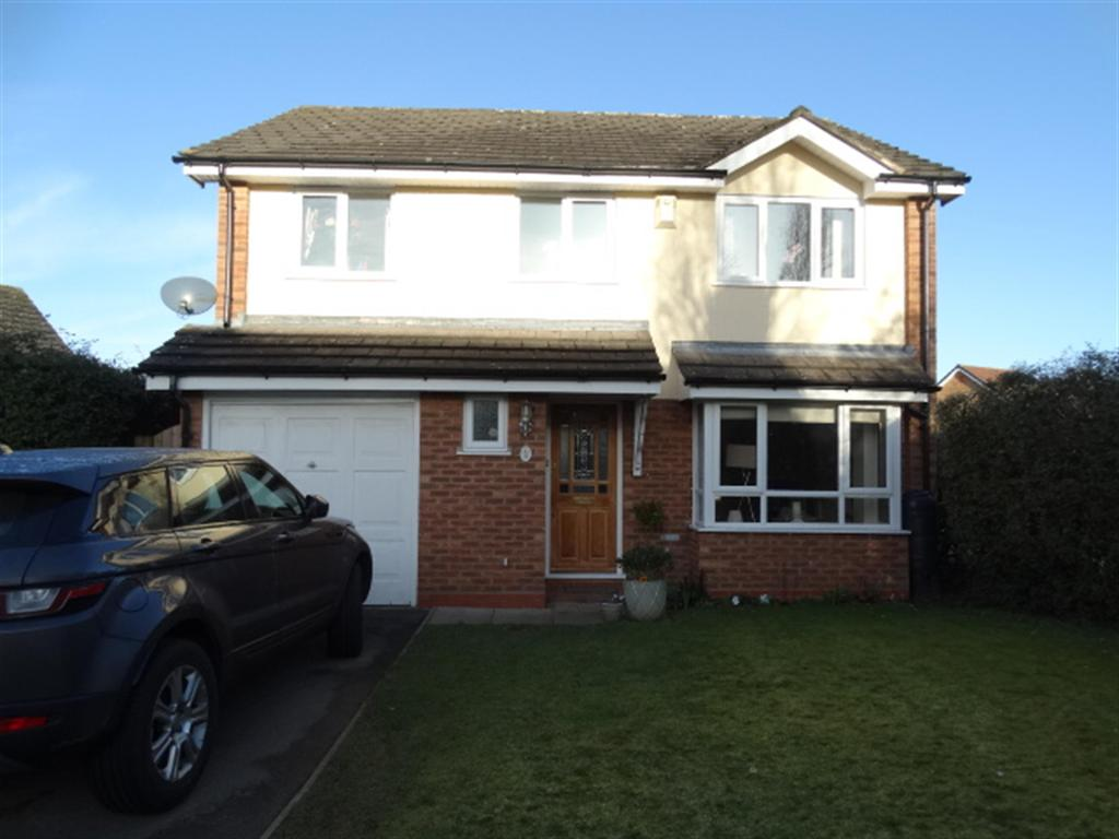 4 Bedrooms Detached House for sale in Chipstone Close, Hillield, Solihull, B91 3YS