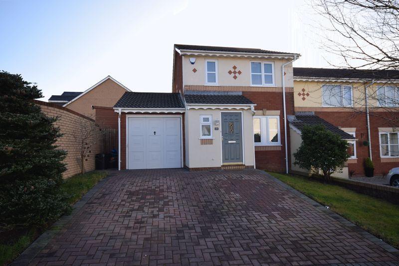 3 Bedrooms End Of Terrace House for sale in Maes Y Fedwen, Bridgend