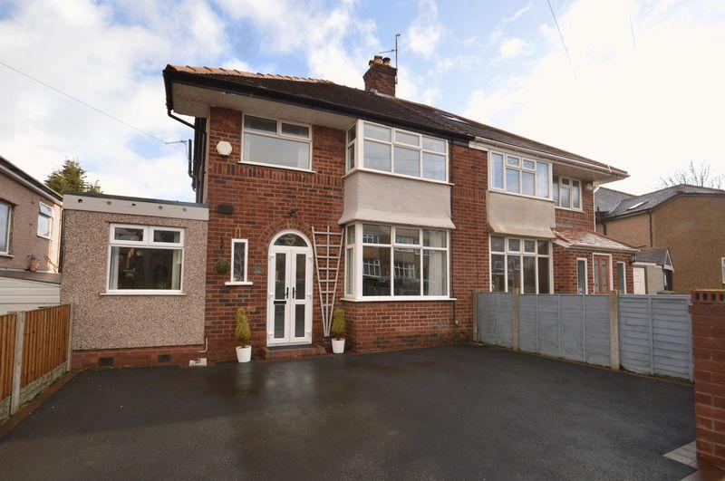 4 Bedrooms Semi Detached House for sale in Gleggside, West Kirby