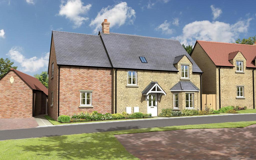 4 Bedrooms Detached House for sale in The Spruce, Charity Farm, Stonesfield, Witney, Oxfordshire