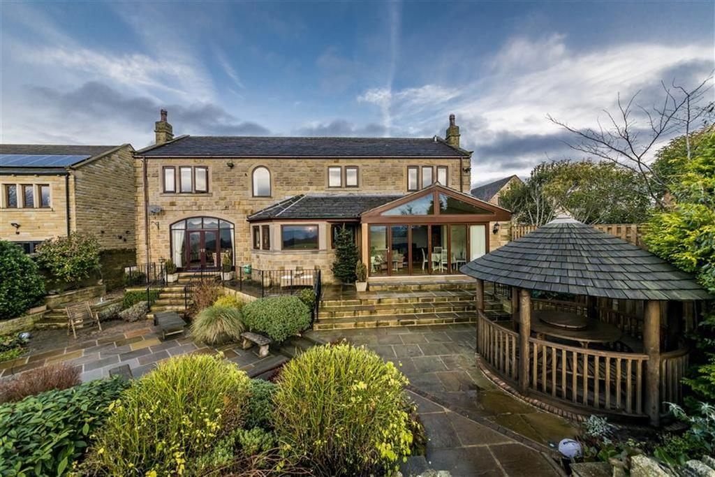 4 Bedrooms Detached House for sale in Hartshead Lane, Hartshead, Between Huddersfield And Leeds, WF15