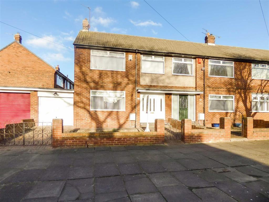 3 Bedrooms Semi Detached House for sale in Verne Road, North Shields
