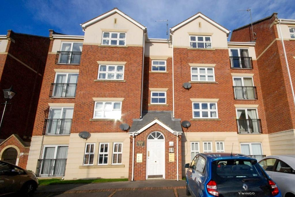 2 Bedrooms Apartment Flat for sale in Edward House, Albert Court, Ashbrooke