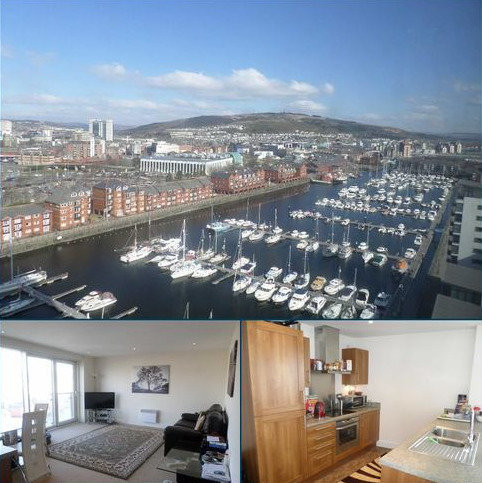 1 bedroom apartment for sale - Meridian Tower, Trawler Road, Swansea