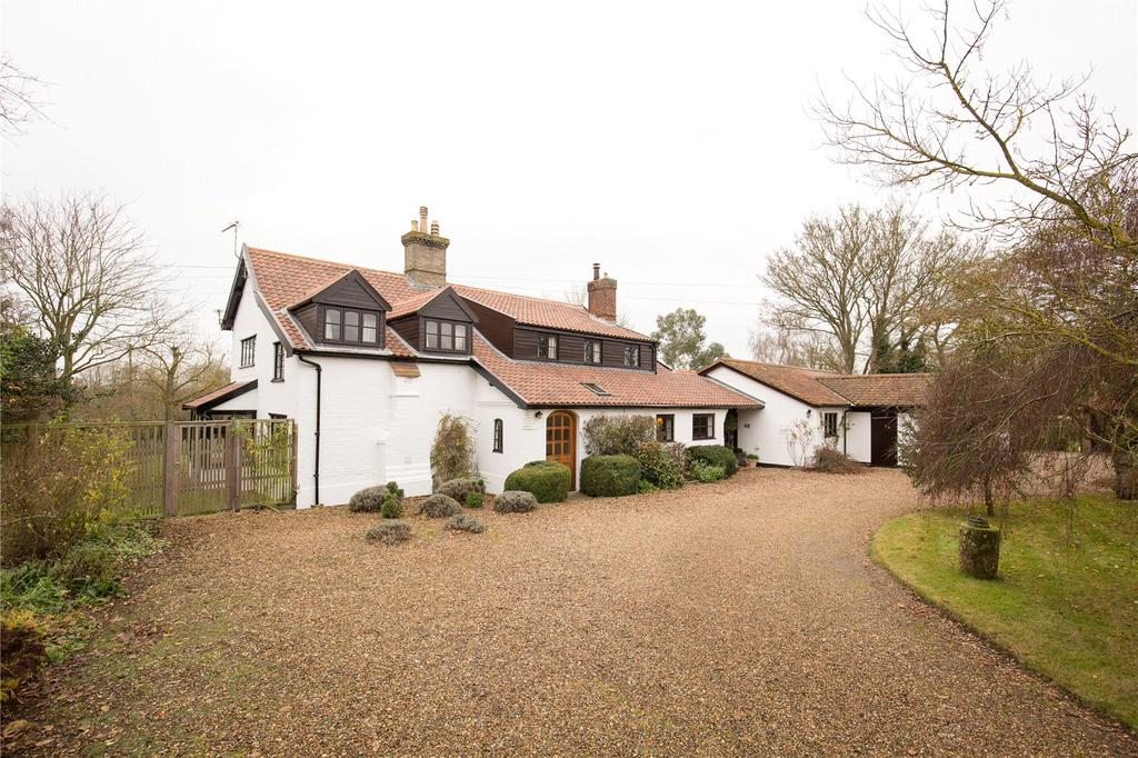 5 Bedrooms Detached House for sale in Mill Road, Hempnall, Norfolk, NR15